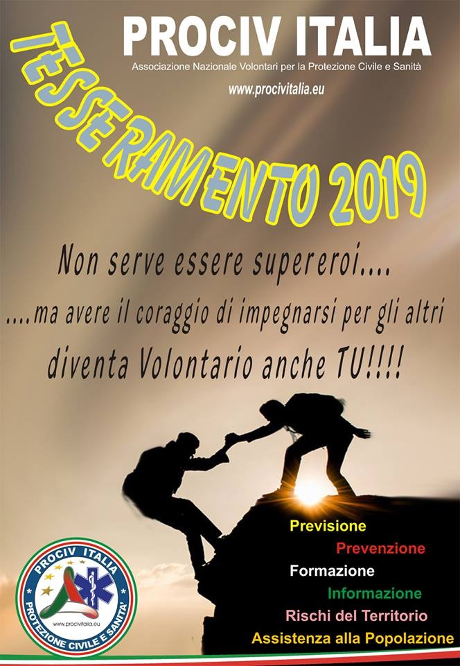 Non serve essere un Supereroe per fare parte di noi!